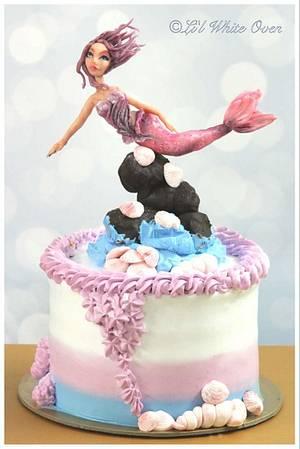 Floating Mermaid - Cake by Gauri Kekre