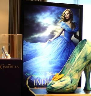 Disney Cinderella Glass Slipper 4ft Sculpted Cake - Cake by Sugar Spice
