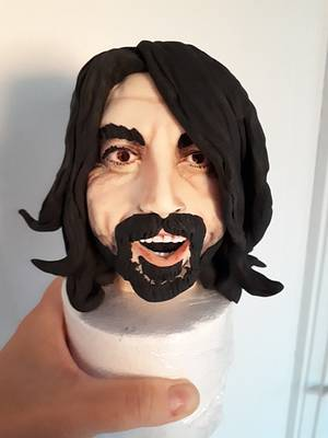 Dave Grohl  - Cake by lameladiAurora