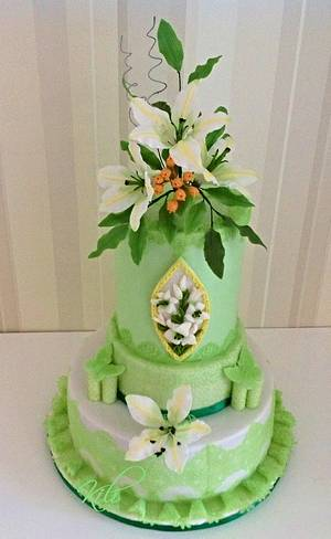 The seventieth birthday - Cake by kili