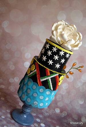 SugarArt4Autism Collaboration - Cake by Sweet Dreams by Heba