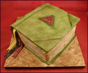 The Book of Shadow Spells, Charmed - Cake by Deeliciousanddivine