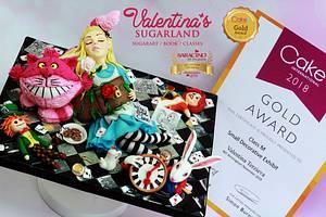 Alice - Gold award at CI - Cake by Valentina's Sugarland