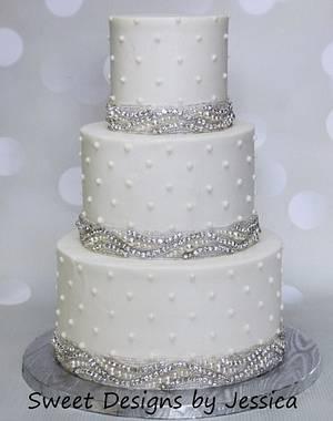 Alison's wedding - Cake by SweetdesignsbyJesica