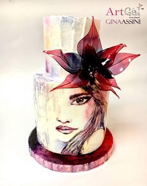 Violet  - Cake by Gina Assini