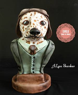 Year of the dog challenge  - Cake by Alyaa sharshar