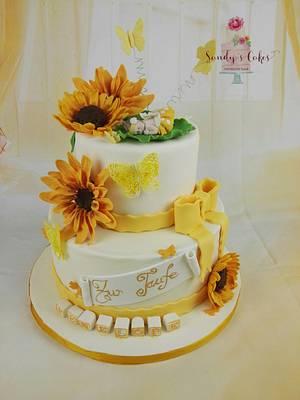 Sunflowers - Cake by Sandy's Cakes - Torten mit Flair