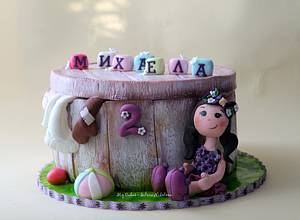 Vintage Toy Box Cake - Cake by marulka_s