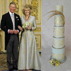 CPC- Royal- wedding- dresses-collaboration Camilla Duchess of Cornwall - Cake by Cakes Inspired by me