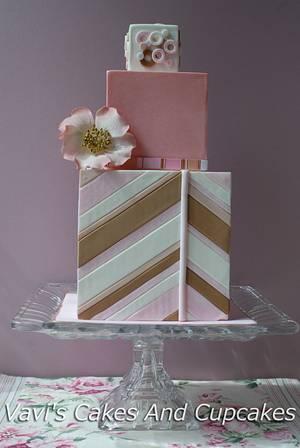 Dog Rose Cake - Cake by Vavijana Velkov