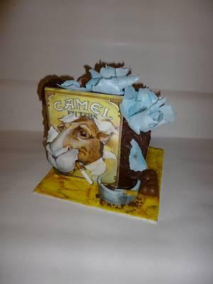 dort pro milovníka cigaret - Cake by Jitka