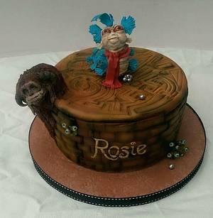 Labyrinth birthday cake. - Cake by Danielle Lainton