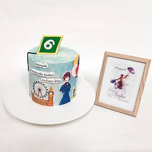 Mary Poppins Returns - Cake by At Piece