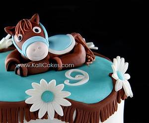 Just Horsing Around! - Cake by Andrea
