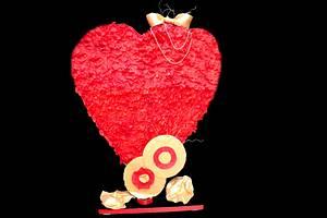 Caker Buddies Valentine Collaboration - The Big Heart - Cake by Mavin