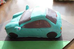 Matty's Car birthday cake! - Cake by Samantha Corey