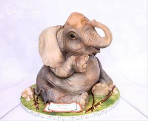 Elephant Cake  - Cake by DusiCake