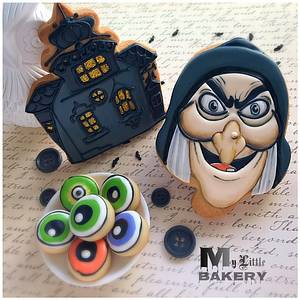 "Halloween cookies  - Cake by Nadia ""My Little Bakery"""
