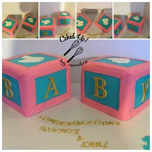 Baby Blocks - Cake by CandyGirl24