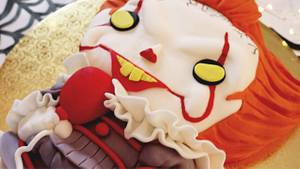 PENNYWISE CAKE!  - Cake by Miss Trendy Treats