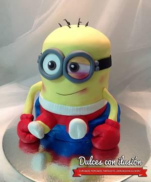 Munion boxer cake - Cake by Dulces con ilusion