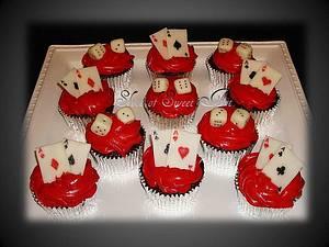 Gambler Cupcakes - Cake by Slice of Sweet Art