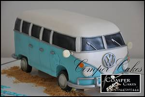 Bus Cake - Cake by Comper Cakes