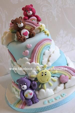 Carebears - Cake by Zoe's Fancy Cakes