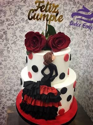 Flamenca Cake - Cake by Emy