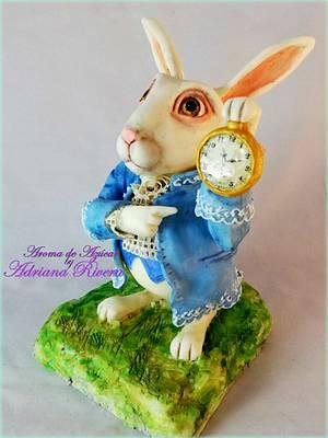 Crazy Rabbit Alice - Cake by Aroma de Azúcar