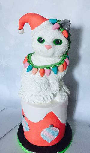 Your on santas naughty list - Cake by Tania's Delights