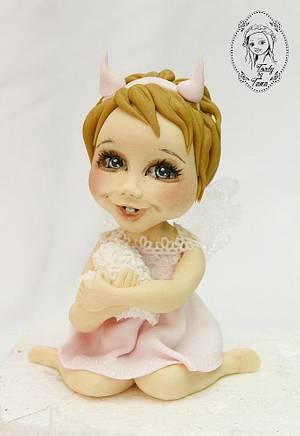 little angel - Cake by grasie