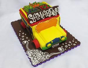 Jeepney Cake - Cake by Larisse Espinueva