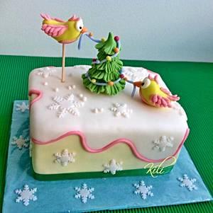 Christmas - Cake by kili