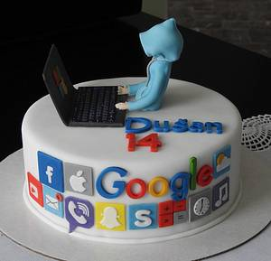 For a boy  - Cake by MartaMc
