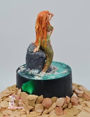 Mermaid in a Jello Cake - Under The Sea Collaboratiom - Cake by Jenny Kennedy Jenny's Haute Cakes