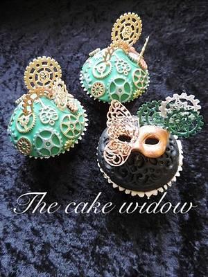 Steampunk cupcakes - Cake by jayne