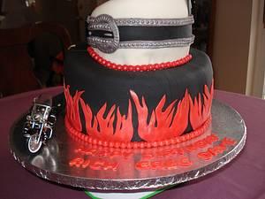 Screw It, Let's Ride! - Cake by robin