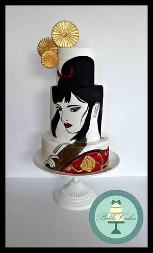 Lady Eboshi - Spirited Away - Cake by Bella Cakes