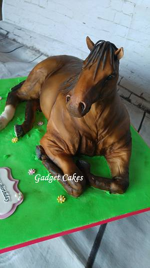 Horse Cake - Cake by Gadget Cakes