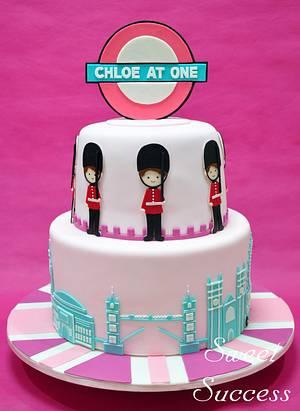 London Cake - Cake by Sweet Success