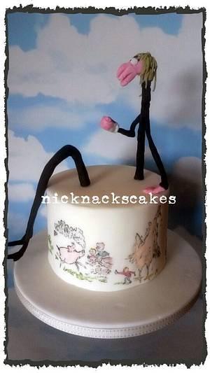 Roald Dahl Collaboration George's Marvellous Medicine - Cake by NickNacksCakes