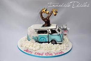 Magical Campervan Cake - Cake by Vicki's Incredible Edibles