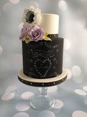 Back to school..... - Cake by Judy