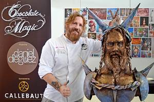 """Viking Warrior"" LIVE CAKE SCULPTING at Cake and Bake Germany - Cake by Daniel Diéguez"