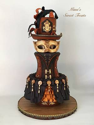 Carnival Cakers Collaboration - Cake by MimisSweetTreats