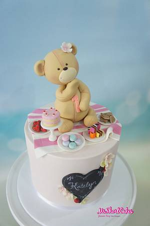 Teddy Bear Picnic - Cake by Miss Shortcakes