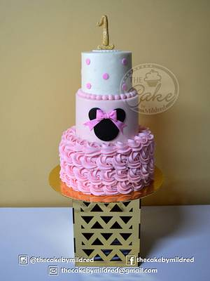 Minnie Cake - Cake by TheCake by Mildred