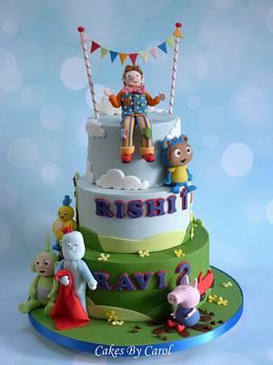 Joint Birthday cake - Cake by Carol