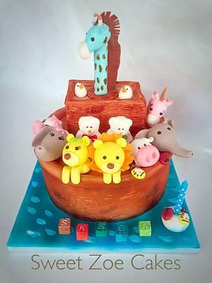 Noah's Ark Cake - Cake by Dimitra Mylona - Sweet Zoe Cakes